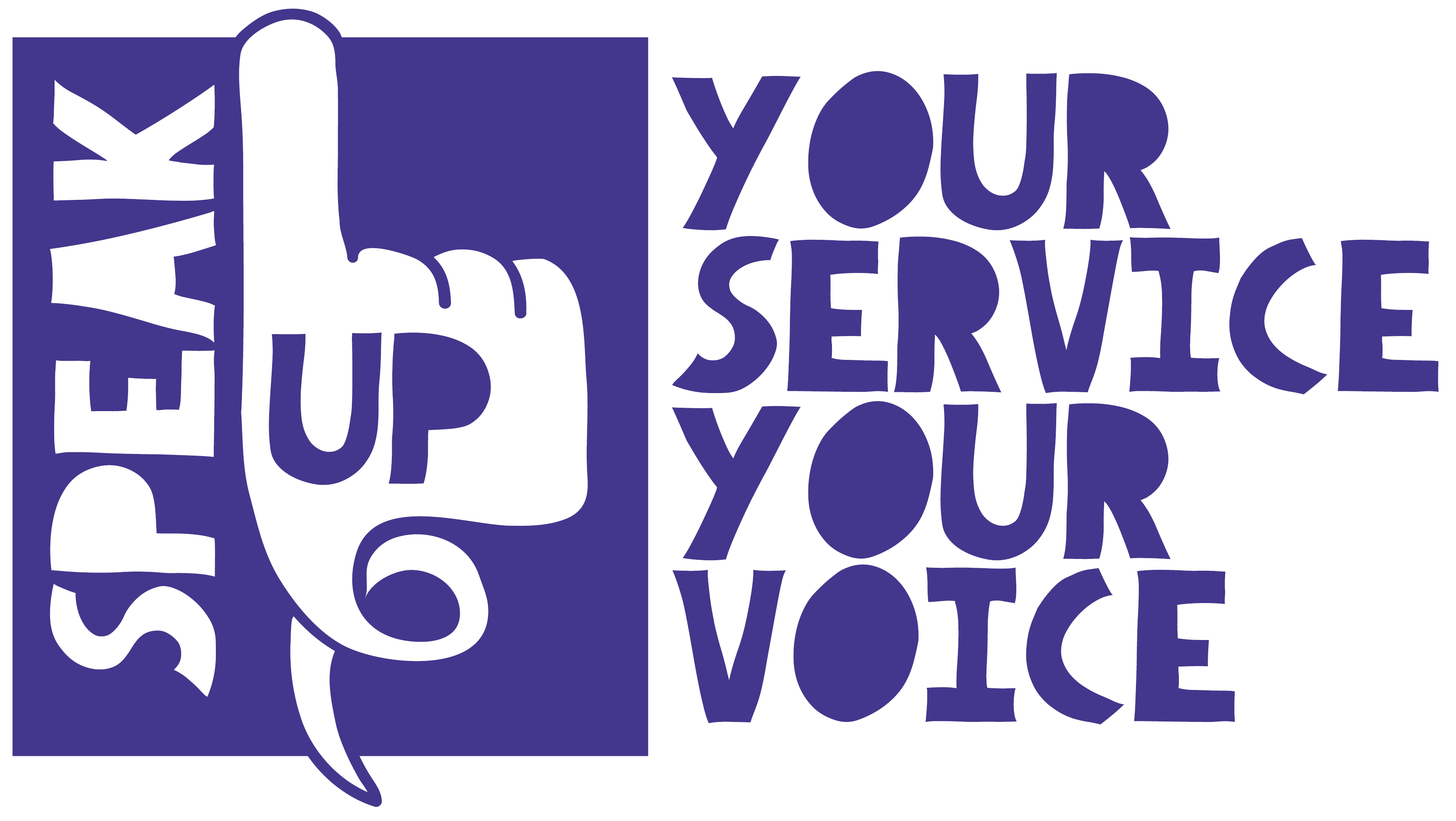 speak up logo banner