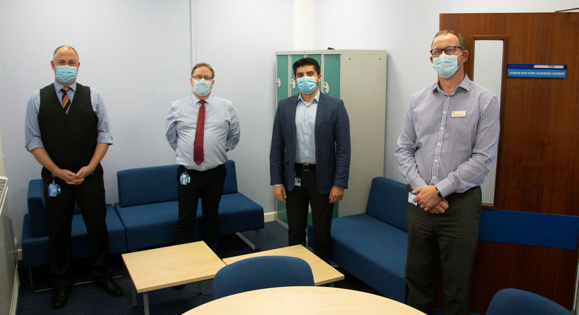New 'business lounge' for junior doctors opens