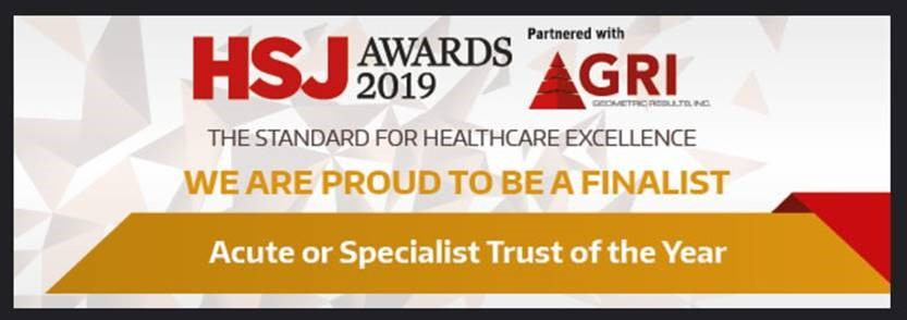 ROH shortlisted for Trust of the Year (Published 20 August 2019)