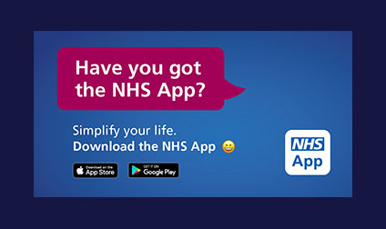 Have you got the NHS App? (14th Oct 2019)