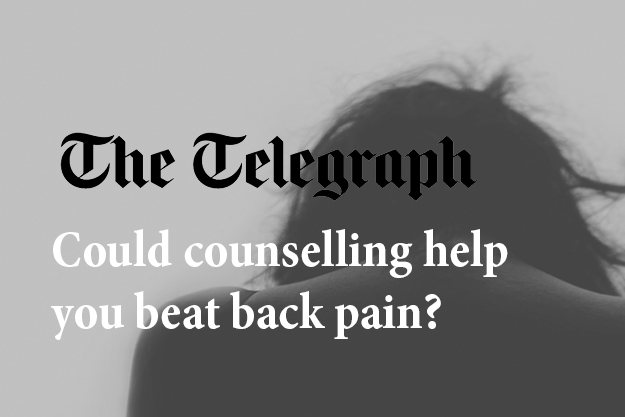 Could counselling help you beat back pain?